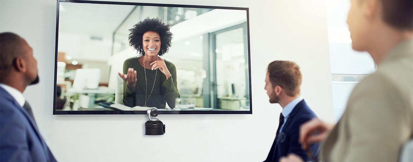 Konferenztechnik Videokonferenz