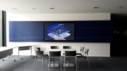 Digital Signage Display Wartebereich Stuttgart