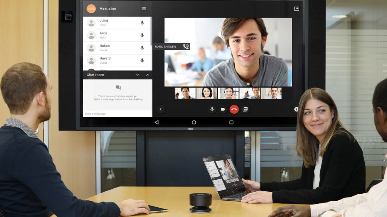 InfinityBoard Videokonferenz