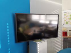 Philips Display Montage an Schwenkarm
