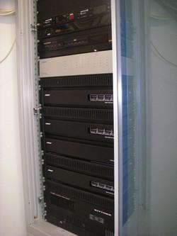 Audio Technik Rack für Halle Montage Allgäu