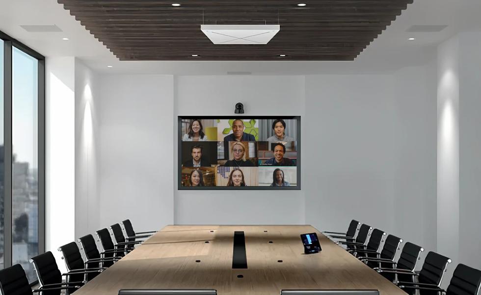 Konferenztechnik Banner Konferenzsysteme