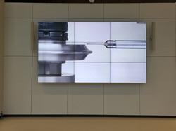 3x3 Videowall Montage Stuttgart