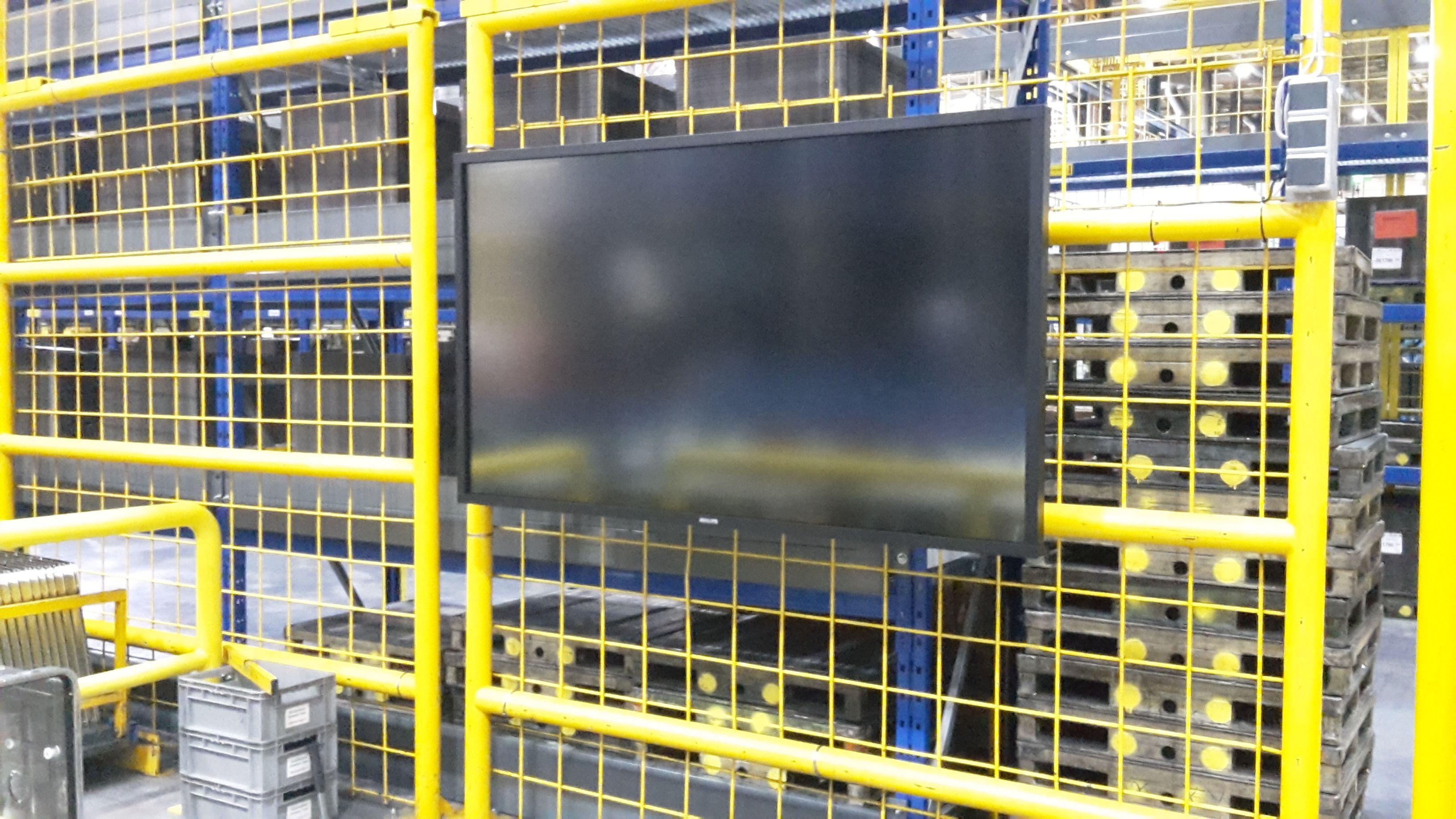 Produktion Philips Display Montage Dillingen