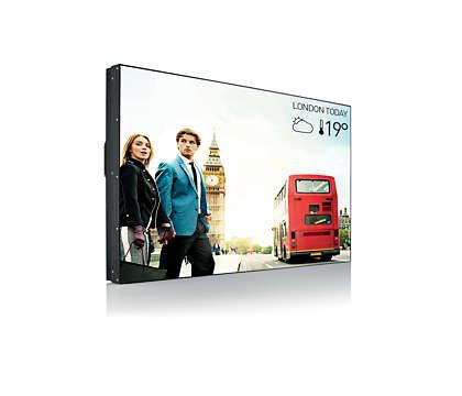 Philips X-Line - kostengünstige Videowall
