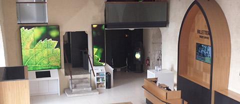 Videowall Ausstellung/Museum