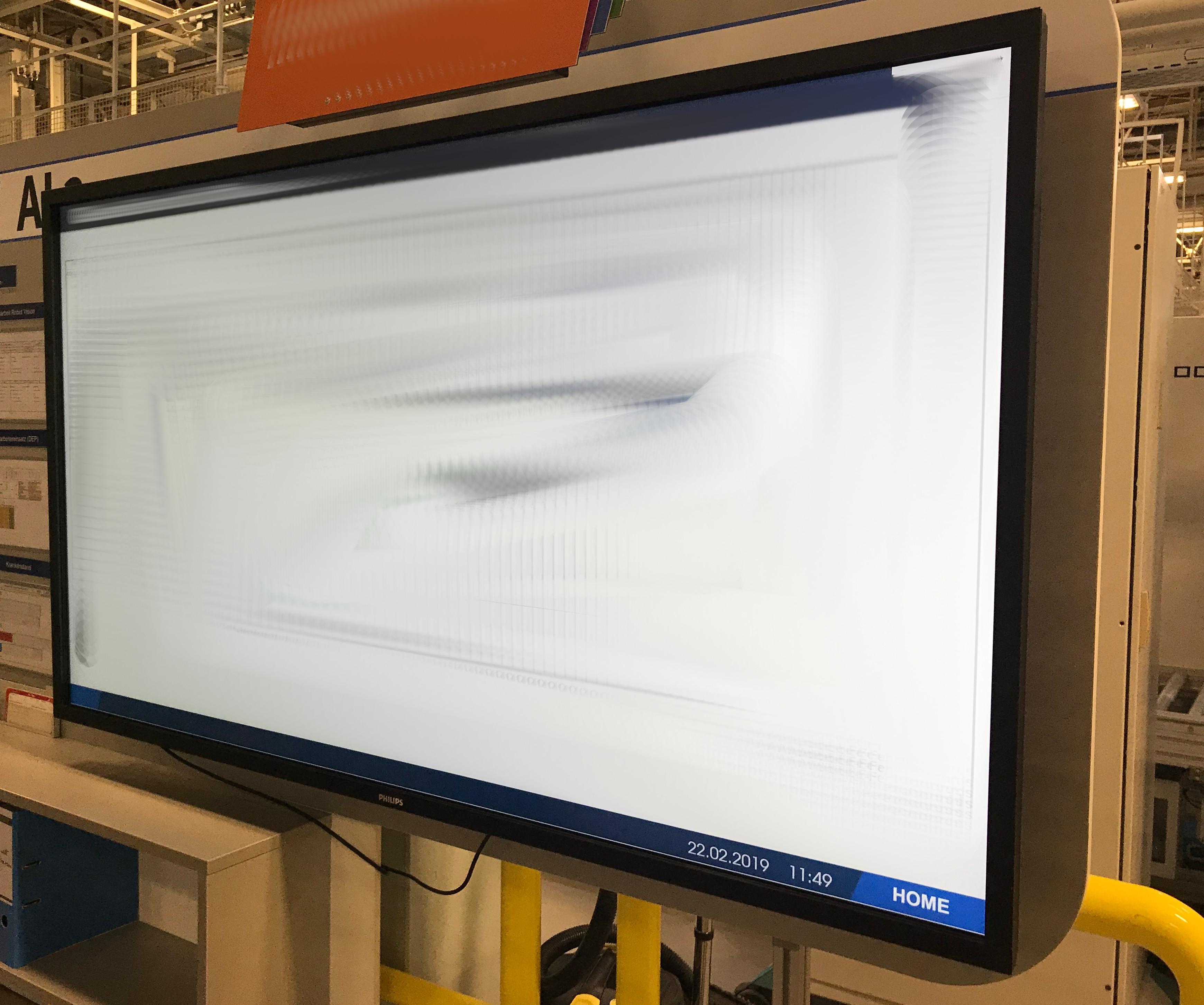 Digitales schwarzes Brett Dillingen