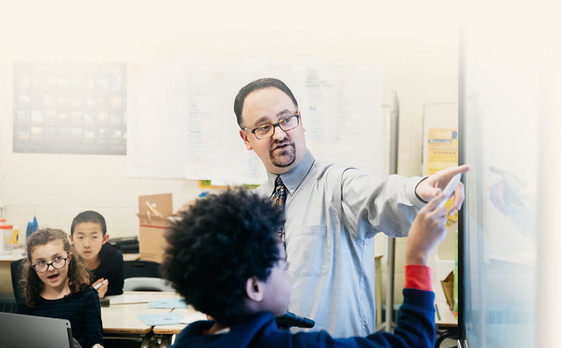 interaktives Whiteboard Schule