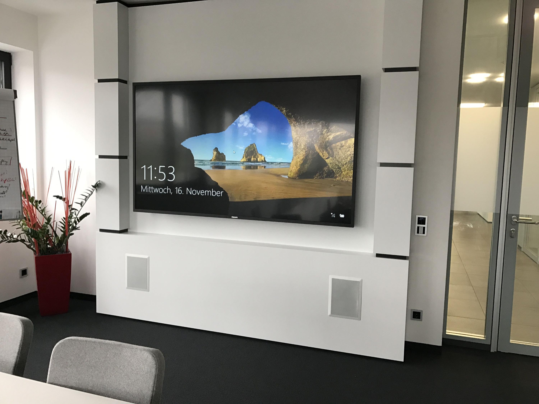 Medienwand Sony Display Günzburg