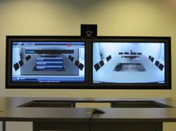 Videokonferenzraum Montage in Ulm