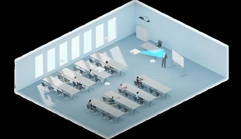 Sennheiser TruVoicelift Animation Demo