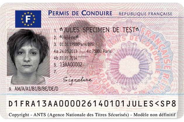 Getting your driver licence in France
