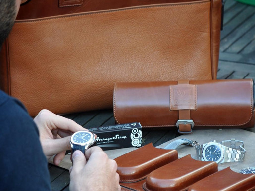 Watch Garage Leather