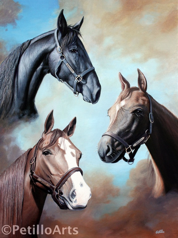 3 horse power painting copy