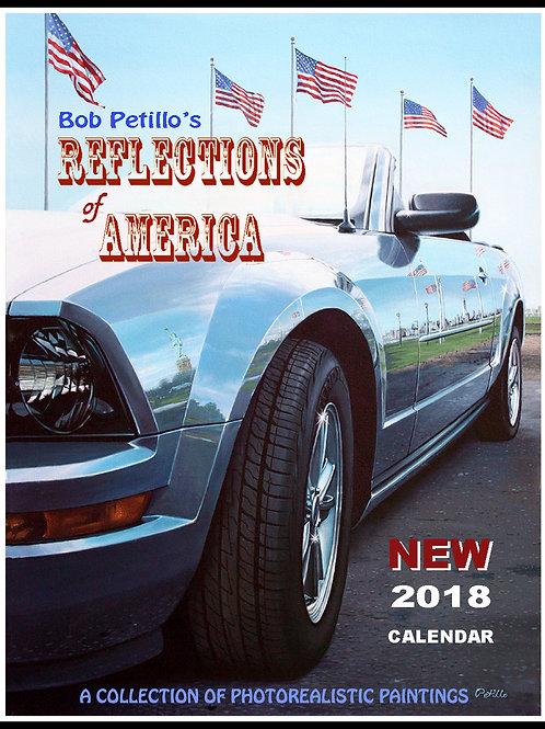 2018 Reflections of America Calendar by Bob Petillo
