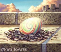 Potter mysterious egg