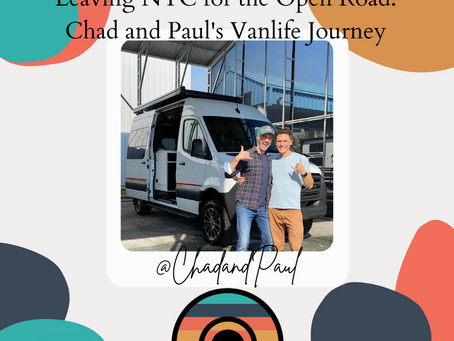 Leaving NYC for the Open Road: Chad and Paul's Vanlife Journey