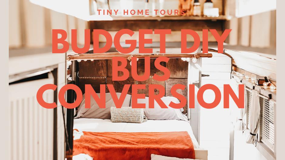 Architecture Student's Gorgeous DIY School Bus Conversion - $10k Build