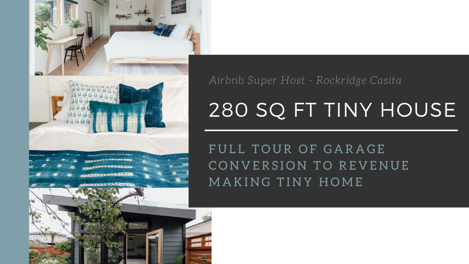 Garage Converted Into Gorgeous 280 Square Foot DIY Tiny House