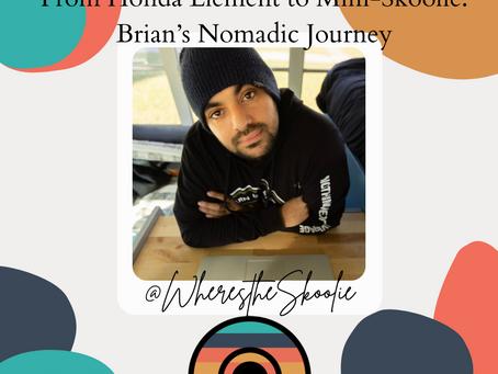 From Honda Element to Mini-Skoolie: Brian's Nomadic Journey