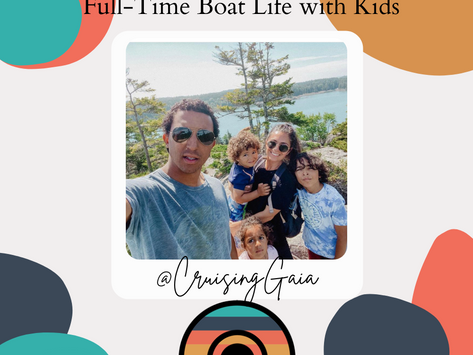 Full-Time Boat Life with Kids