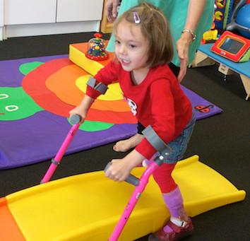 Kinesioterapia en niños con Parálisis Cerebral