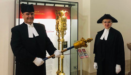 Speaker and SAA with old mace.jpg