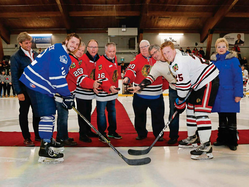 Celebrating 50 years of the Charleswood Hawks
