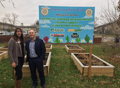 Selfless work done by Charleswood Rotary Club