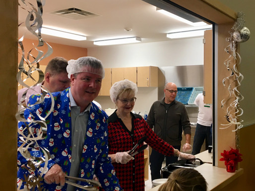 Celebrating the holidays in Roblin