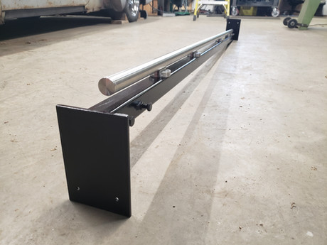 Adjustable Rail Support Beam