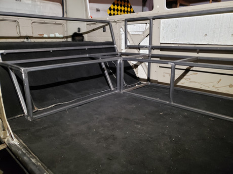 VW Bus Custom Seat Frames