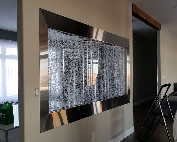 Stainless Water Wall Frame