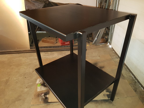 Double Industrial Oven Stand
