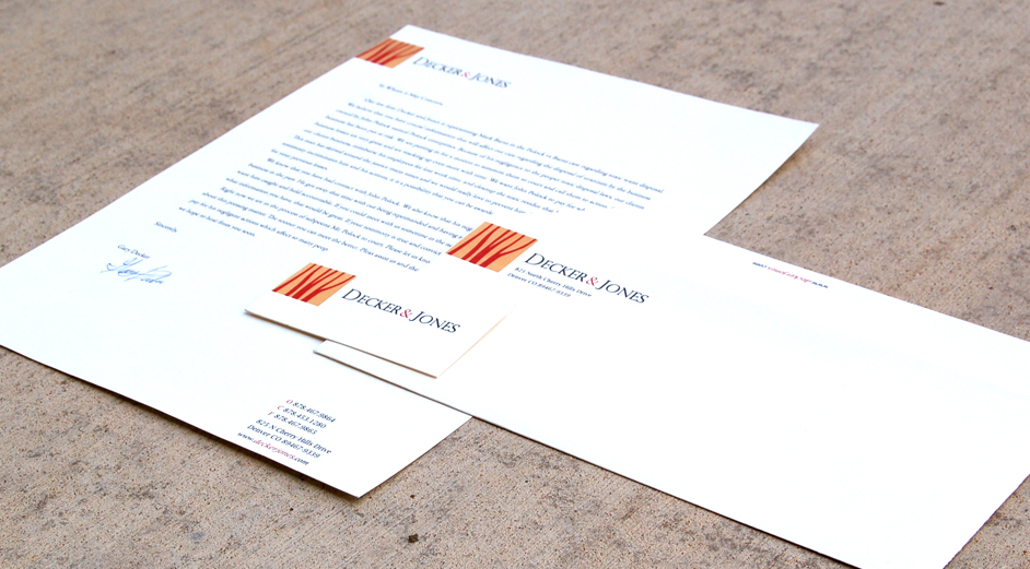 Full brand design for a law firm.