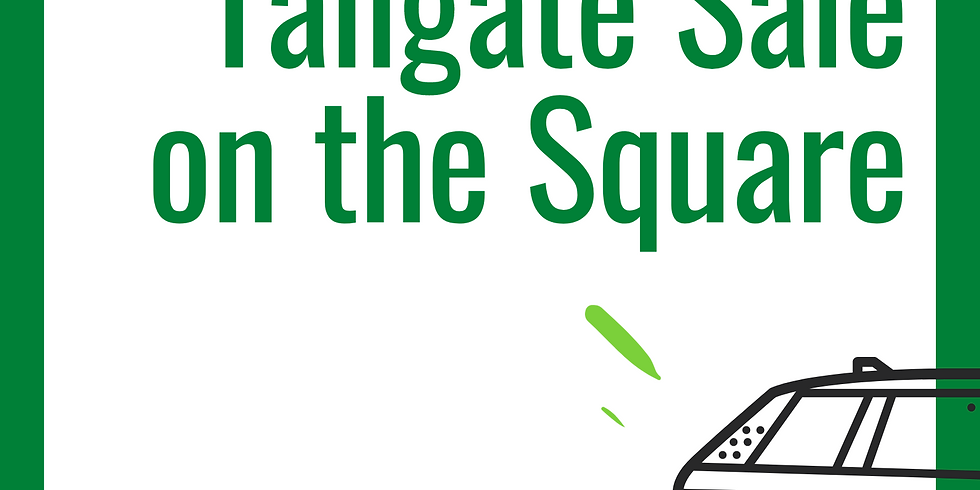 Tailgate Sale on The Square