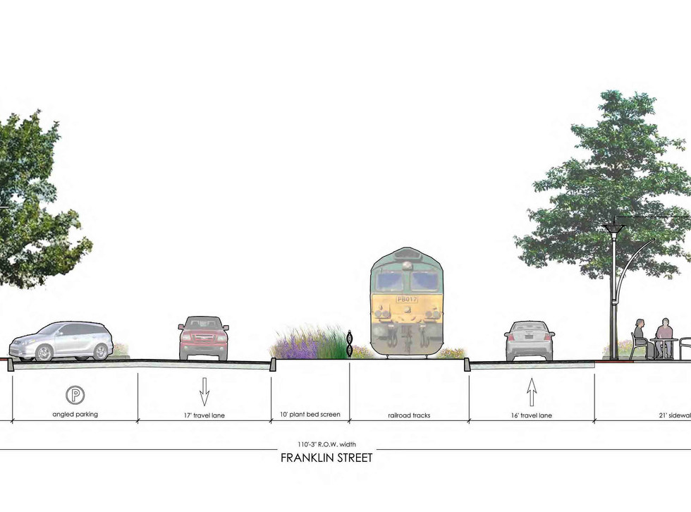 Proposed Franklin St section