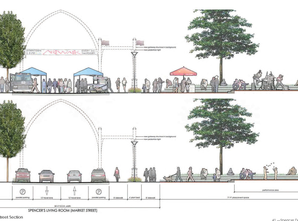 "Proposed Market St ""Living Room"""