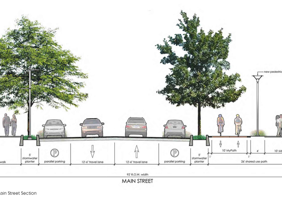 Proposed Market St section