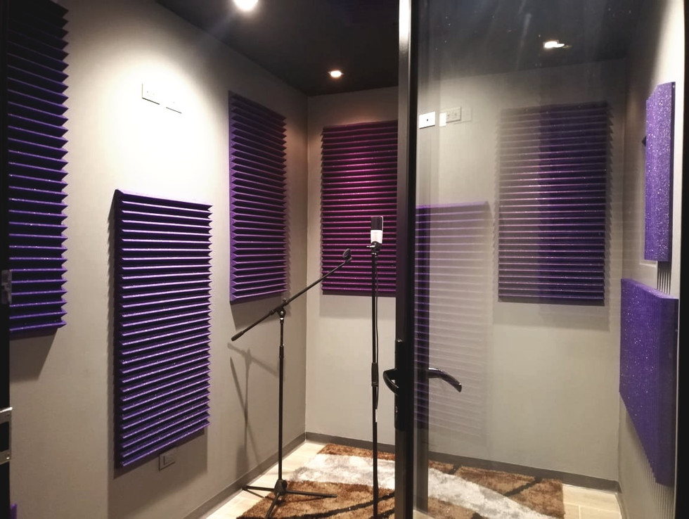 Grabación de audio - Ciclorama