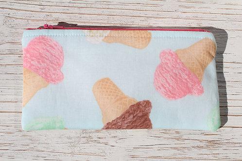 Ice Cream Pencil Pouch