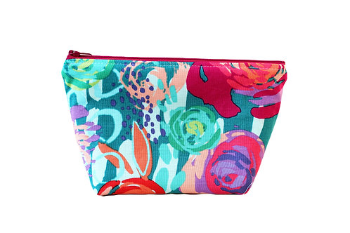 Cosmetic Bag - Bright Floral