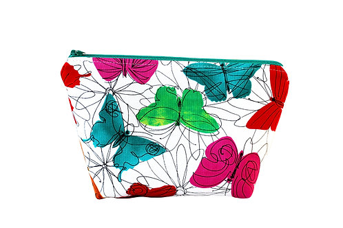 Cosmetic Bag - Butterflies