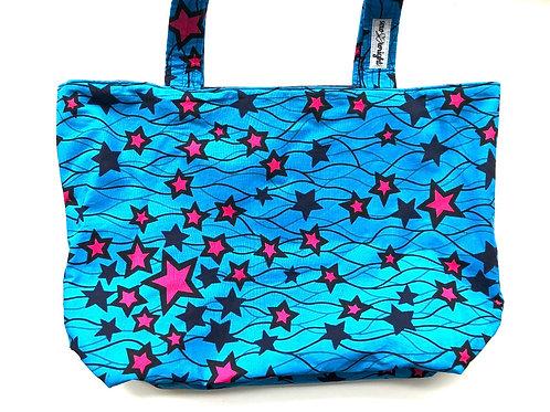 Reversible Tote Bag - Medium Wash Denim