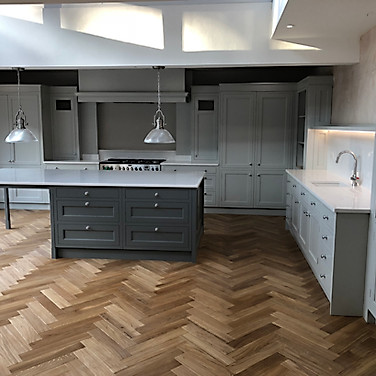 Cardiff - Bespoke inframe kitchen