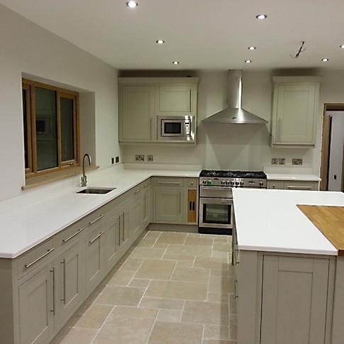 Painted Inframe Kitchen