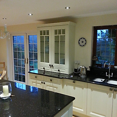 Painted Timber Kitchen