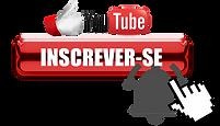 (45) PNG Botão INSCREVA-SE do Youtube.pn