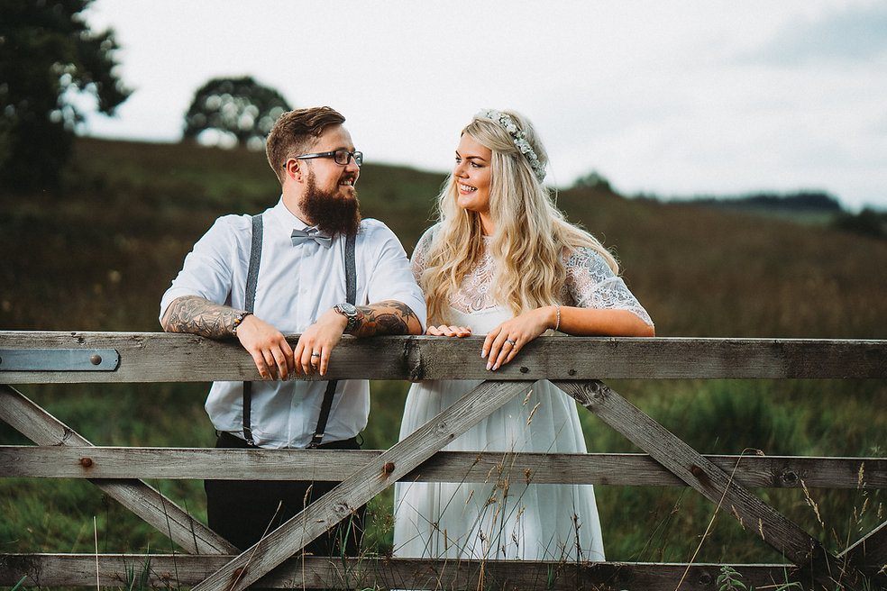 Brecon Wedding Couple