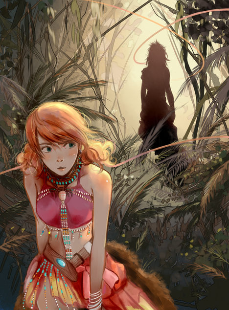 FFXIII fanart for a Zine